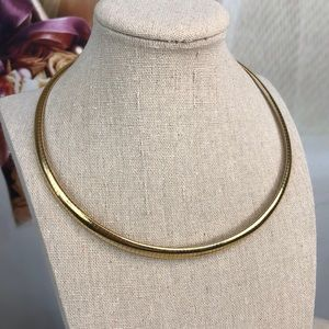 Jewelry - Vintage Omega 14k Gold Plated Necklace